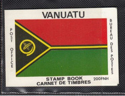 1980 Vanuatu Flag Maps Complete Unexploded Booklet MNH - Vanuatu (1980-...)