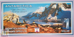 ANTARCTICA 1 DOLLAR 1999 PICK NL UNC - Banknotes