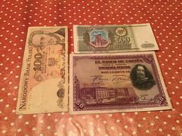 LOT 3 BILLETS VOIR LE SCAN - Alla Rinfusa - Banconote