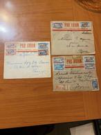 Lettres Du SENEGAL 1926 POUR LA FRANCE PAR AVION  ( Voire Scan ) Port Offert - Sénégal (1887-1944)