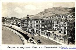 MC - Monaco - Monte-Carlo - Bristol & Majestic Hôtels - Alberghi