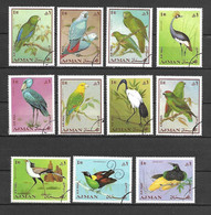 Ajman 1969 Birds USED (D0558) - Ajman