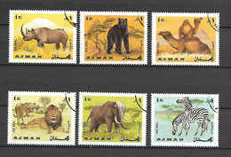 Ajman 1969 Animals USED (D0696) - Ajman