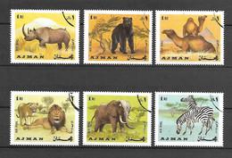 Ajman 1969 Animals USED (D0698) - Ajman