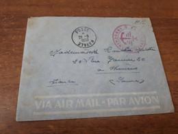 Old Letter - Indochine - Francobolli