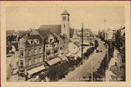De Panne La Panne L'Avenue De La Mer - De Panne