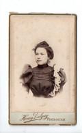 PHOTO . PORTRAIT DE FEMME . PHOTOGRAPHIE HENRI DELGAY . TOULOUSE- Réf. N°26195 - - Anonymous Persons