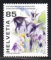 Suisse Helvetia 2071 Biodiversité, Chèvre - Protezione Dell'Ambiente & Clima