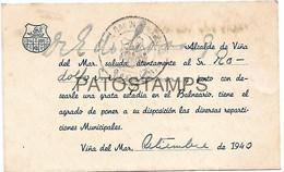 143066 CHILE VIÑA DEL MAR ESTADIA EN EL BALNEARIO YEAR 1940 NO POSTAL POSTCARD - Chili