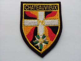 Ecusson 76ème Régiment D'Infanterie - Scudetti In Tela