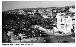 143073 CHILE VIÑA DEL MAR VISTA PARCIAL CLUB POSTAL POSTCARD - Chili