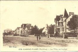 CARNAC  --les Villas Sur La Plage                                               -- Henry 2758 - Carnac