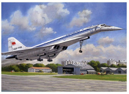 (P 1) Russia - Posted To Australia - Tupolev Aircraft - Avion (look Like Concorde) - 1946-....: Modern Tijdperk