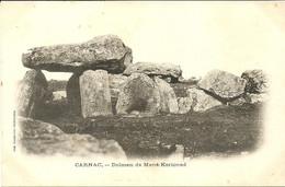 CARNAC  -- Dolmen De Mané Kerioned                                               -- Laussédat - Carnac