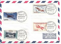 France PA 30/33 Oblitéré Premier Jour Cote 1200€ - 1950-1959