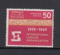 Pakistan 1969 50 Years Of ILO. 1 Val. MNH. VF. - Pakistan