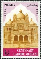 Pakistan 1994 Centenary Of Lahore Museum. Single. MNH. VF. - Pakistan