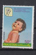 Pakistan 1980 Asian Congress Of Paediatric Surgery. Single. MNH. VF. - Pakistan