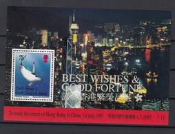 South Georgia And South Sandwich Islands 1997 Chinstrap Penguin. S/S. MNH. VF. - Géorgie Du Sud