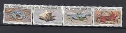 Christmas Islands 1985. Crabs. Set. MNH. VF. - Christmas Island
