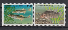 Korea 1997 Marine Life. Fish. Set. MNH. VF. - Corea (...-1945)