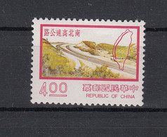 Taiwan (Rep. Of China) 1977 Nine Major Construction Projects: Highway Keelung - Kaohsiung. 1 Val. MNH. VF. - Nuovi