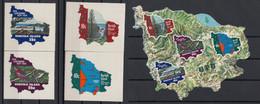 Norfolk Islands 1974 UPU Centenary. Set & S/S. MNH. VF. - Norfolk Island