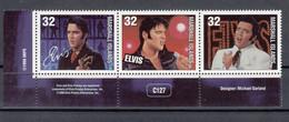 Marshall Islands 1968 Elvis Presley. Set In Strip. MNH. VF. - Marshall Islands