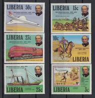 Liberia 1979 Rowland Hill (1795-1879). Set. MNH. VF. - Liberia
