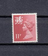 GB 1971-93 QEII Wales 11p Regional Machin. MNH. VF. - Regionali