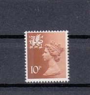 GB 1971-93 QEII Wales 10p Regional Machin. MNH. VF. - Regionali