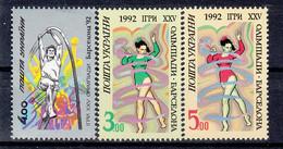 Ukraine 1992 Barcelona Olympics. Free-style Gymnastics & High-Jump. Set. MNH. VF. - Ukraine