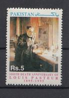 Pakistan 1995 100th Death Anniv Of Louis Pasteur. 1 Val. MNH. VF. - Pakistan