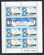 Montserrat 1981 Royal Wedding. Shetlet Of 7. MNH. VF. - Montserrat