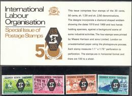Kenya Uganda Tanzania K U T 1969 ILO. Set In Folder. MNH. VF. - Kenya (1963-...)