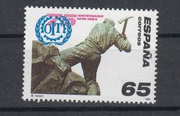 Spain 1994 International Labour Organization - ILO. 75th Anniv. 1 Val. MNH. VF. - 1931-Hoy: 2ª República - ... Juan Carlos I