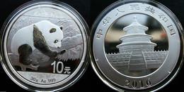 China 2016 Silver Panda Coin. 10 Yuan. 30 G. Ag. 999. - China