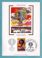 Carte Maximum 1983 - Bicentenaire De L'air Et De L'espace - Pilâtre De Rozier - YT 2262 - Le Bourget - 1980-89