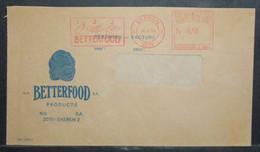Belgium - Advertising Meter Franking Cover 1976 Ekeren Betterfood Baby Food Industry Logo C1244 - 1960-79