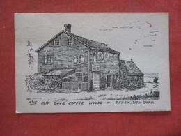 Old Dock Coffee House  Essex New York >    Ref  4383 - NY - New York