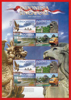 Indonesie 2009, MS Indonesia-Singapore Joint Stamp Issue. MNH - Indonesia