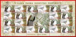 Indonesia 2010, FS PROVINCIAL FLORA FAUNA. MNH - Otros