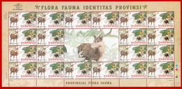 Indonesia 2010, FS PROVINCIAL FLORA FAUNA-b. MNH - Otros