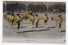 CORRIDA - LE PASEO - CPA COULEUR VOYAGEE - 75 - Corrida