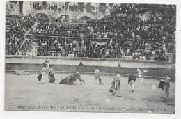 CORRIDA - N° 1891 - COURSES DE TAUREAUX - APRES L' ESTOCADE - MORT DU TAUREAU - CPA NON VOYAGEE - 75 - Corrida