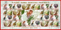 Indonesia 2010, FS PROVINCIAL FLORA FAUNA-c. MNH - Sin Clasificación