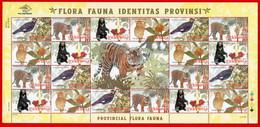 Indonesia 2010, FS PROVINCIAL FLORA FAUNA-d. MNH - Otros