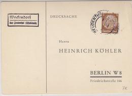 SUDETENLAND - Köhlerkarten Aus WOCKENDORF über Freudenthal + ZWITTAU - Occupation 1938-45