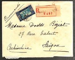 37218 - Recommandé  Pour SAIGON - Sénégal (1887-1944)