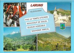 64----LARUNS--( Multi-vues + Blason )--voir 2 Scans - Laruns
